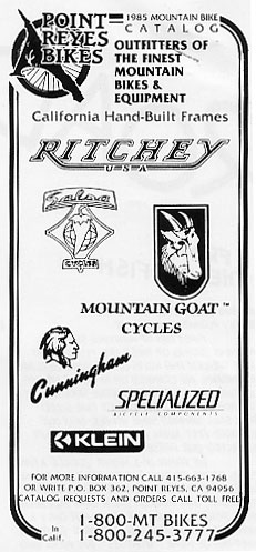 Cyclofiend: Moutain Bike History and Lore