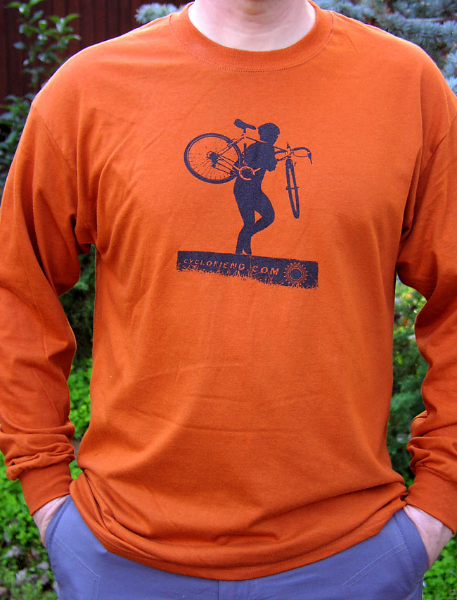 "Cyclocross ""More Cowbell"" t-shirts - now available!"