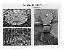 Fall 2006 - Bags for Bicyclers