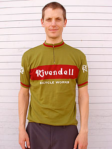 Rivendell Olive Jersey - front view
