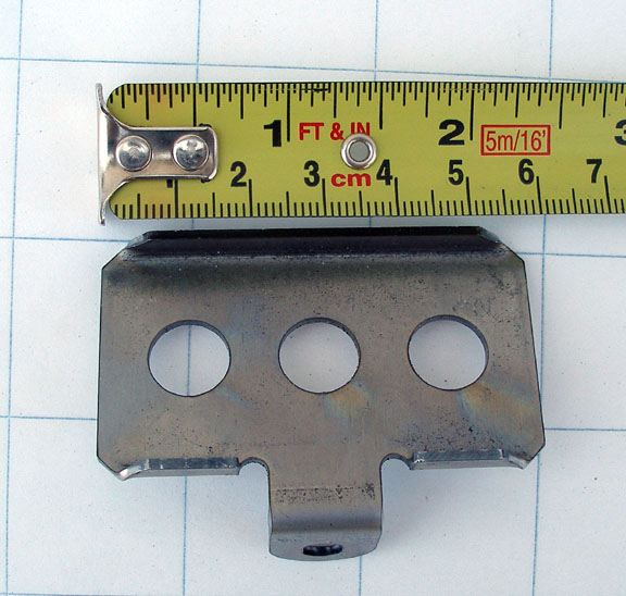 Kickstand plate measuring up