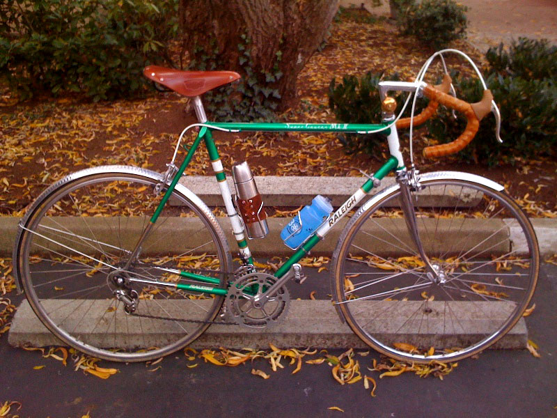 CC Bicycle Gallery: Justin Kohler's Raleigh Super Course MkII